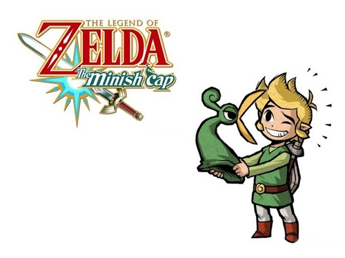 The Legend of Zelda wallpaper with anime entitled The Minish Cap