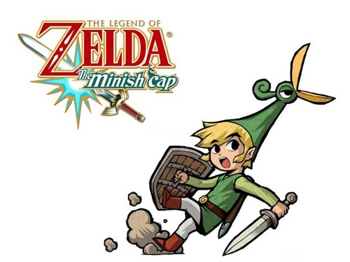 The Legend of Zelda wallpaper containing anime entitled The Minish Cap