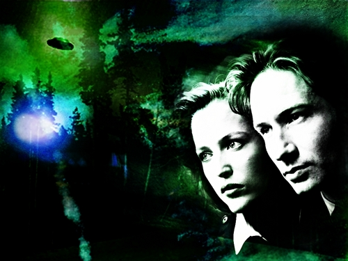 The X-Files achtergrond titled The X Files