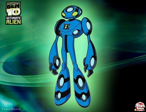 Ben 10: Ultimate Alien achtergrond titled Ultimate Echo Echo