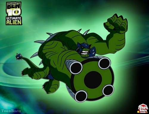 Ben 10: Ultimate Alien achtergrond containing anime entitled Ultimate Humungousaur