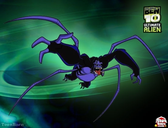 Ben 10 Ultimate Alien Spider Monkey