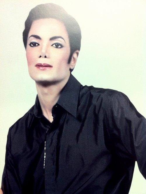 Unreleased fotografias of Michael