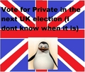 VOTE FOR PRIVATE!