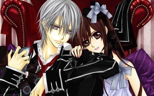 Vampire Knight Yuki and Zero