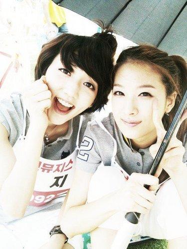 фиолетовый & Lynn at dol звезда Athletics Championships Chuseok Special