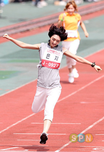 Violet at dol Star Athletics Championships Chuseok Special