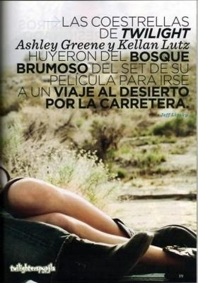 Women's Health Magazine Chile (Ashley & Kellan)