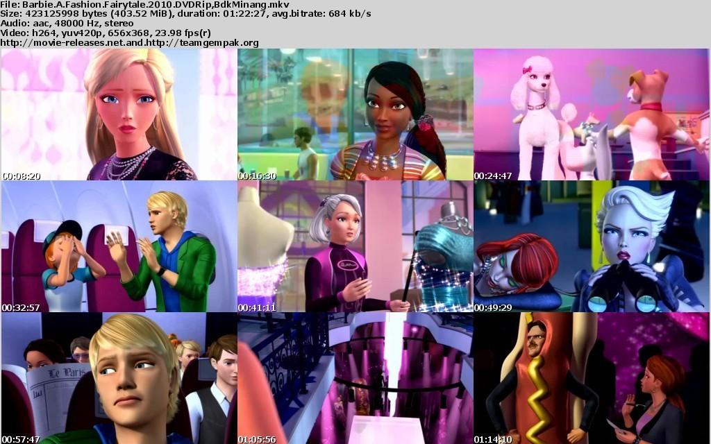 Barbie A Fashion Fairytale Trailer Barbie Movies barbie a fashion