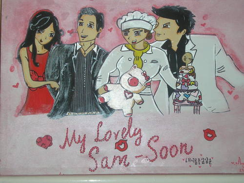 cartoon os daniel henney in my lovely sam soon