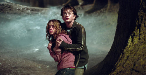 harry and hermioen friendship third साल