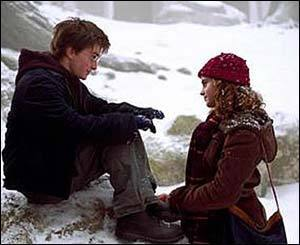 harry and hermioen in third বছর ( just friendship)