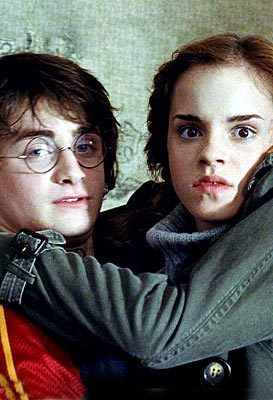 harry and hermione friendship in 4th mwaka