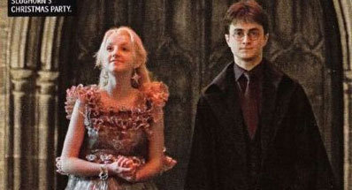 luna and harry in half blood prince