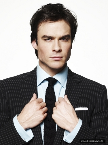 Damon Salvatore wallpaper with a business suit, a suit, and a pinstripe called more photos ian in a suit