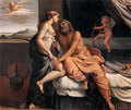 Hera seduces Zeus - greek-mythology photo