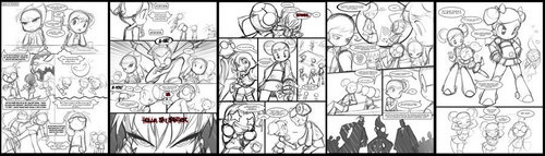 sequential sketch