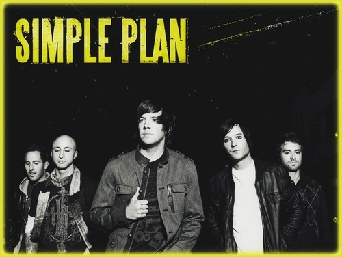 Simple Plan achtergrond with anime titled simPLE PLan