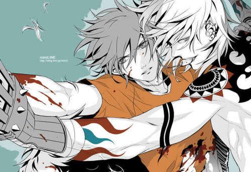 Akira and Gunji