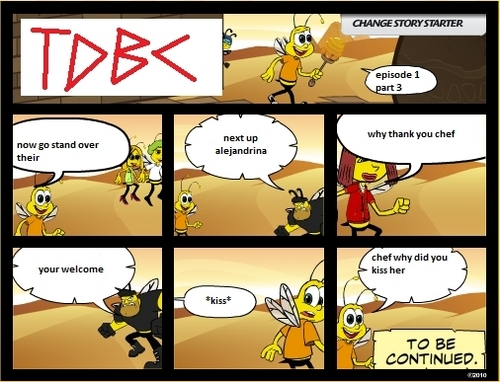 total drama bee comics