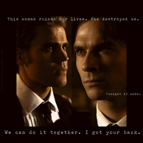 we can do it together ; i got your back. [2x07]