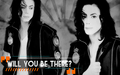 michael-jackson - will u be there wallpaper