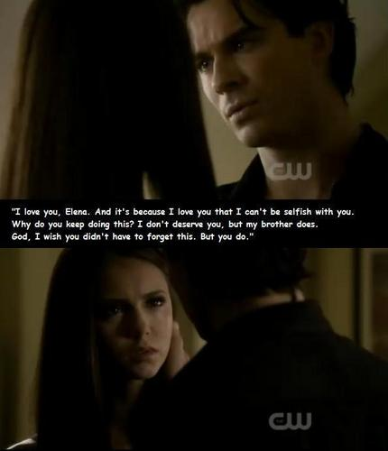 "02x08 Damon says ""i 사랑 you"""