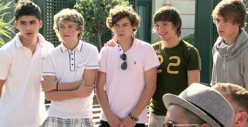 1 direction at the judges house very rare pic :) x