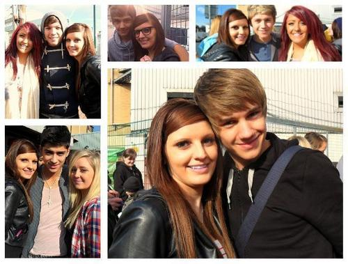 1 direction wiv Fans :) x