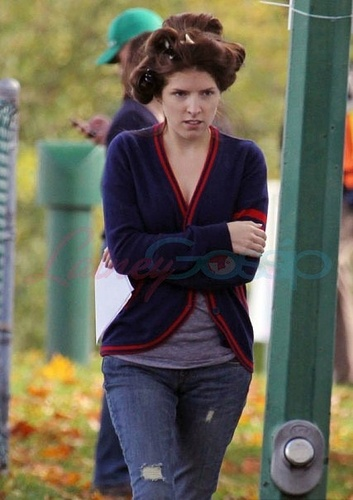 10/02/10 Anna Kendrick is preparing for the movie Live With It