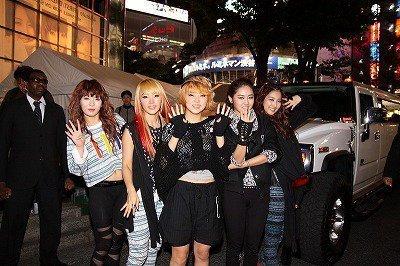4Minute in জাপান