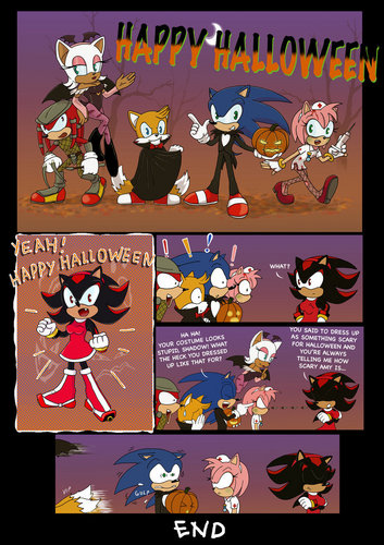A Scary Sonic Halloween