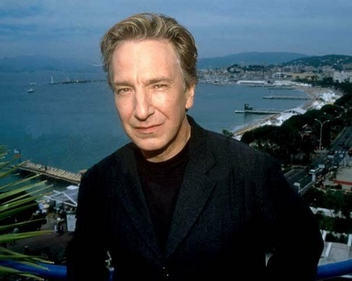 Alan Rickman karatasi la kupamba ukuta probably containing a portrait entitled Alan Rickman :*
