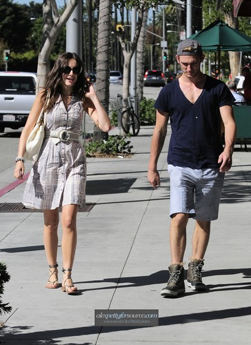 Alex Having Lunch with Camille Belle [Nov 2]