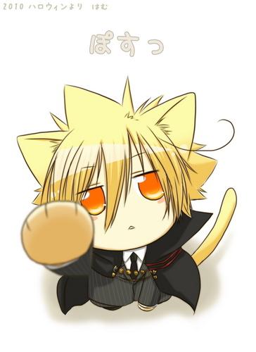 Anime Kitty Chibi