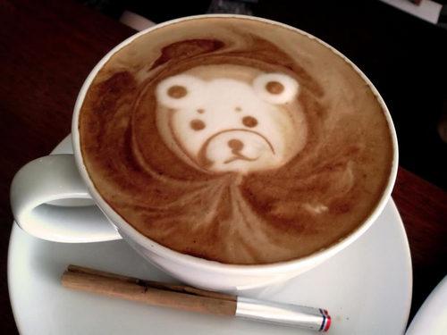 Artistic coffee