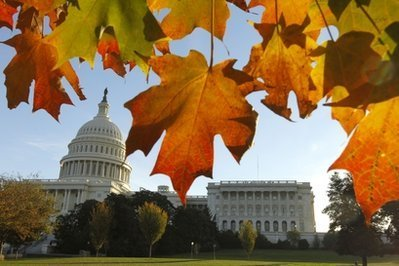 Autumn in the capital of the U.S.A.