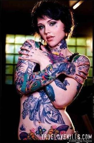 Badass tattoos tattoos fan art 16790739 fanpop for Girls with badass tattoos