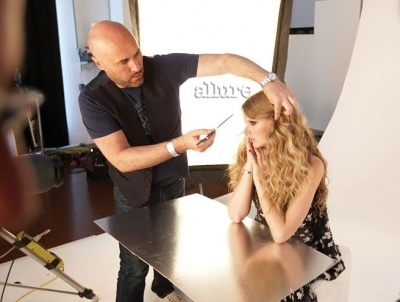 Behind the Scenes Allure Magazine Photoshoot
