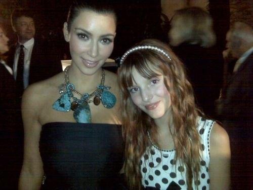 Bella& Kim Kardashian