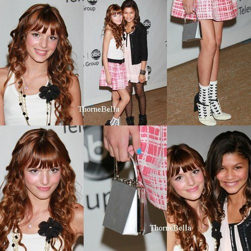 bella thorne fondo de pantalla containing a portrait entitled Bella& Zendaya Coleman