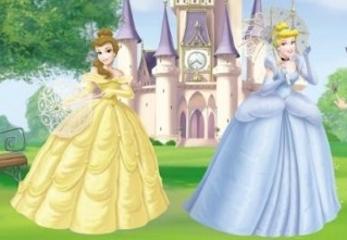 Belle and cinderela