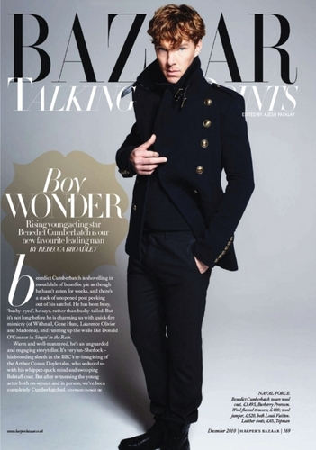 Benedict on Harper Bazar