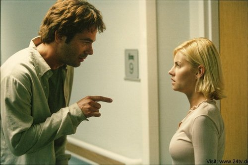 Billy Burke & Elisha Cuthbert as Gary Matheson & Kim Bauer