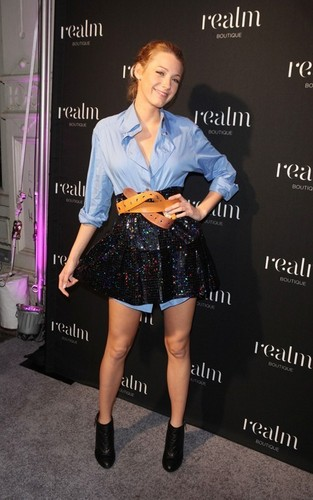 Blake @ Realm Boutique opening