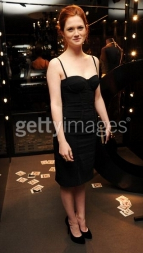 Bonnie Wright attends InStyle magazine and Dolce & Gabbana party