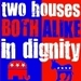 Both Alike In Dignity - debate icon