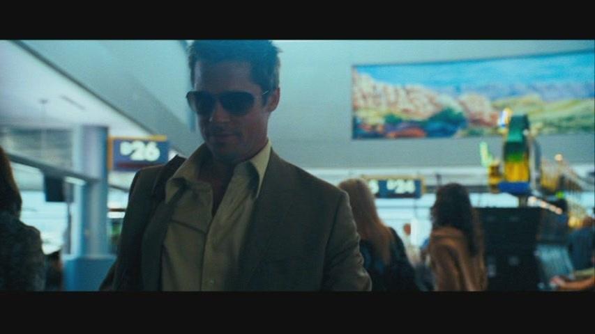 "Brad Pitt in ""Ocean's Thirteen"""