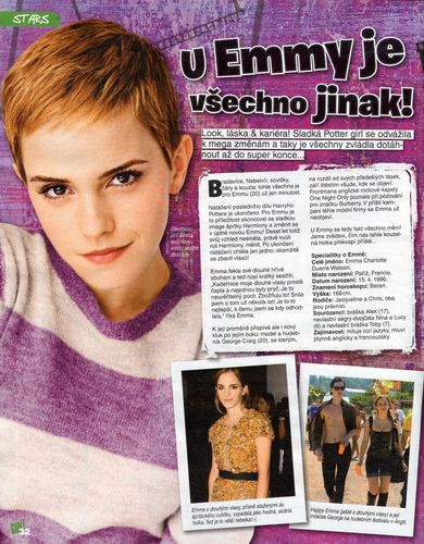 Bravo Girl from the Czech Republic