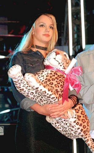 Britney at David Bowie's Concert,Toronto,2000